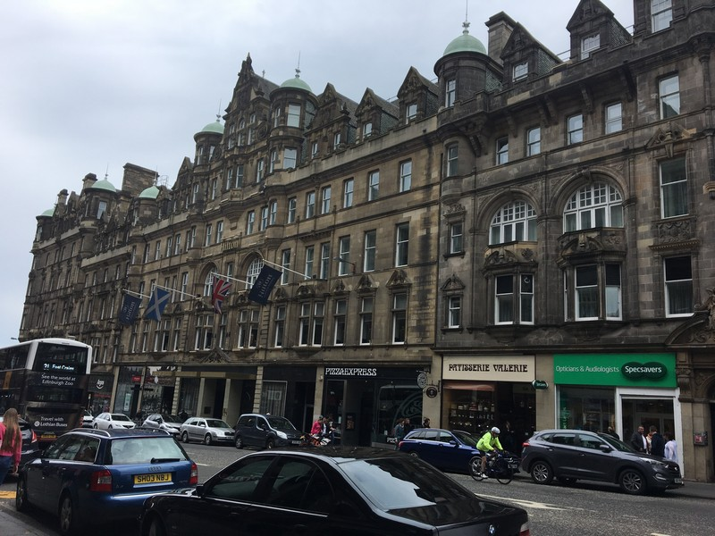 Hilton Carlton Hotel in Edinburgh, Scotland