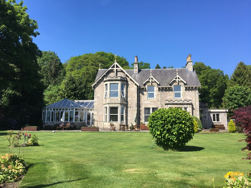 The Claymore Guest House in Pitlochry, Scotland