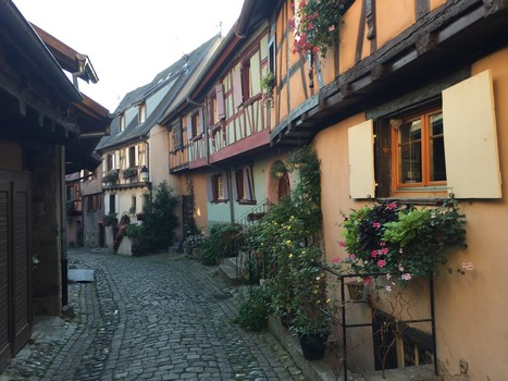 Equisheim in Alsace, France