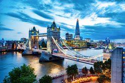 Visiting London England